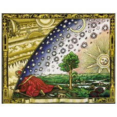 Flammarion engraving - Flat Earth