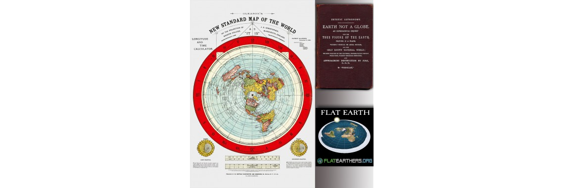 Flat Earth Map Set