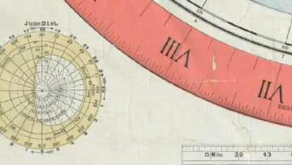 1892 Flat Earth Map Found In Boston Library – The Falkland Island War and  Deception Island